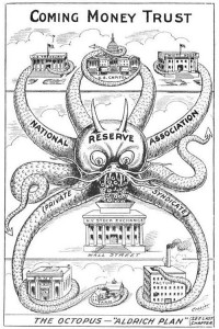 תוכנית אלדריץ' כתמנון המשתלט על הכלכלה האמריקאית ועל וושינגטון
